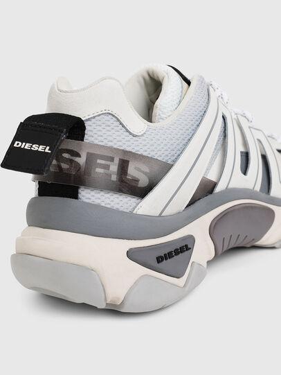 Diesel - S-KIPPER LOW TREK, Blanc/Gris - Baskets - Image 7
