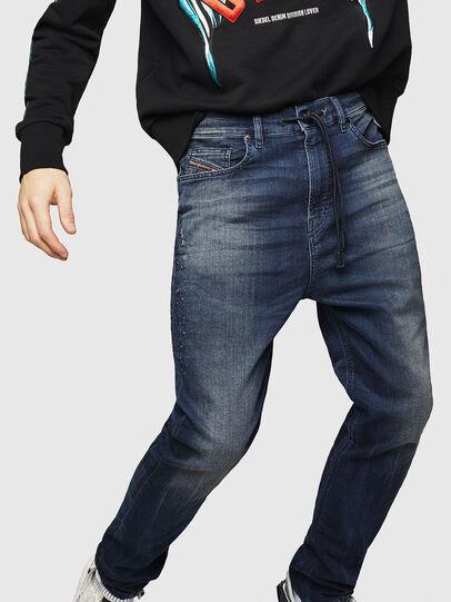 Diesel - D-Vider JoggJeans 069HV, Bleu Foncé - Jeans - Image 4