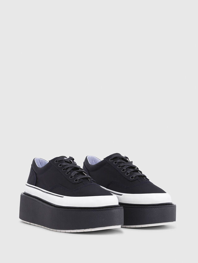 Diesel - H-SCIROCCO LOW, Noir - Baskets - Image 2