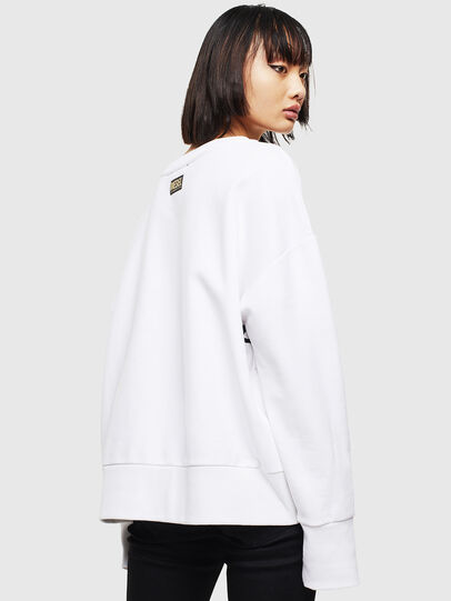 Diesel - CL-F-MAGDA-BIGM, Blanc - Pull Cotton - Image 2