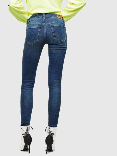 Diesel - Slandy 069KW, Bleu Foncé - Jeans - Image 2