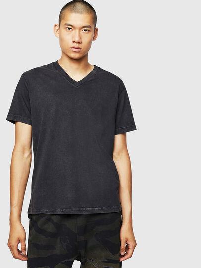 Diesel - T-THEA, Noir - T-Shirts - Image 1