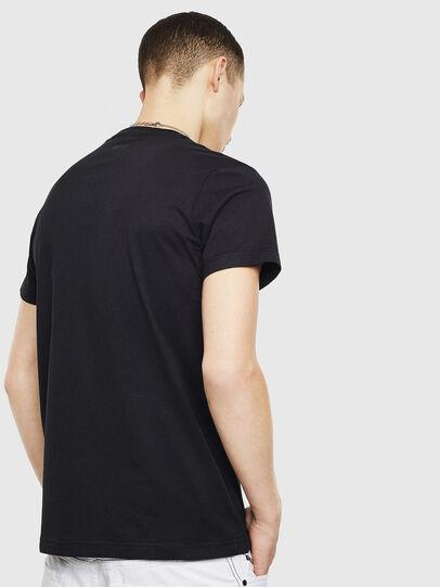 Diesel - T-DIEGO-S12, Noir - T-Shirts - Image 2