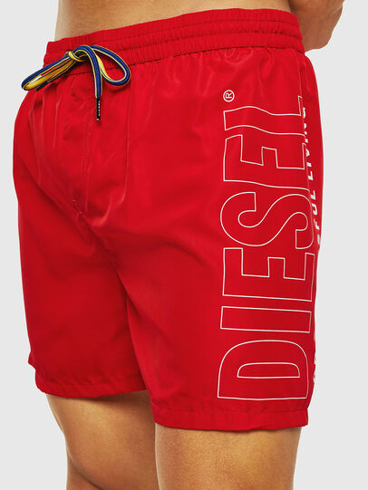 Diesel - BMBX-WAVE 2.017, Rouge - Boxers de bain - Image 3