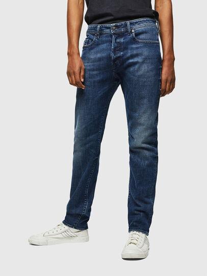 Diesel - Buster 0098P, Bleu Foncé - Jeans - Image 1