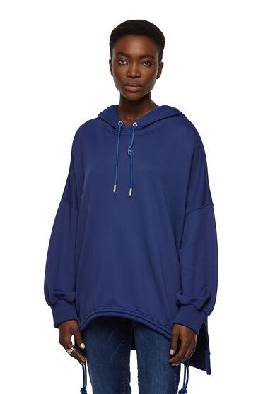 Sweat-shirt à capuche style poncho