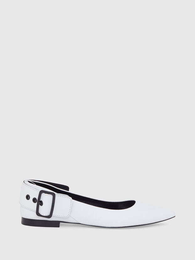 D-MOMY BAT, Blanc - Chaussures Plates