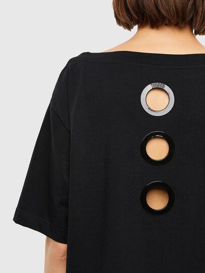 Diesel - T-SBUSETTE, Noir - T-Shirts - Image 3