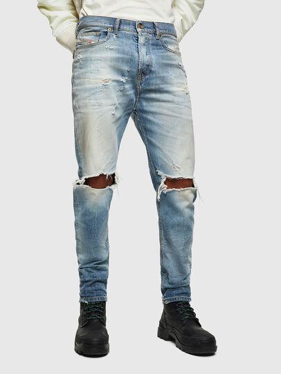 Diesel - D-Vider 0097J, Bleu Clair - Jeans - Image 1