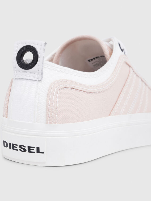 Diesel - S-ASTICO LOW LACE W, Rose/Blanc - Baskets - Image 4
