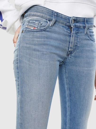 Diesel - Slandy Low 0096L, Bleu Clair - Jeans - Image 3