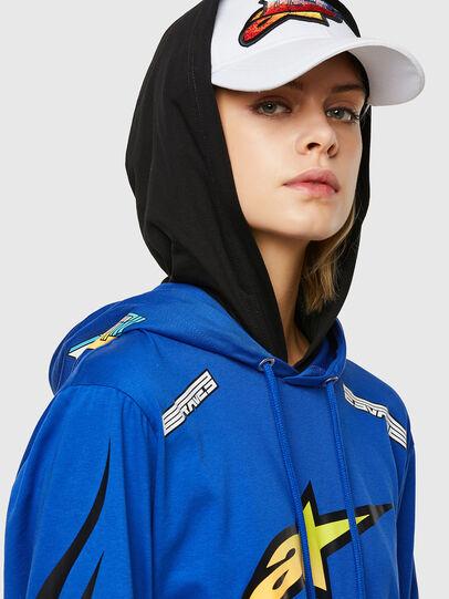 Diesel - ASTARS-T-JUSTOOD-FL, Bleu - T-Shirts - Image 3