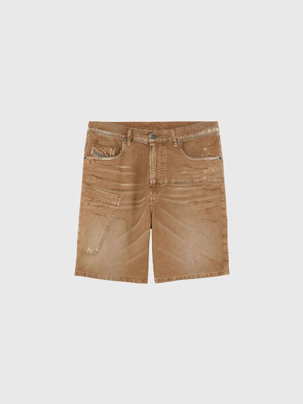D-AZERR-SHORT JOGGJEANS, Marron - Shorts