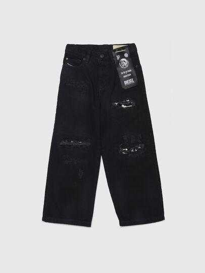 Diesel - WIDEE-J-SP, Noir - Jeans - Image 1