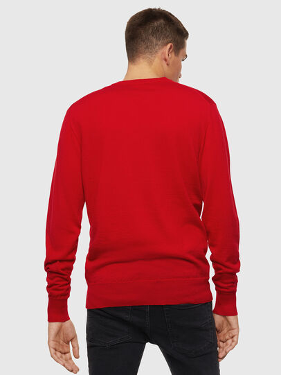 Diesel - K-AMIMI, Rouge - Pull Maille - Image 2