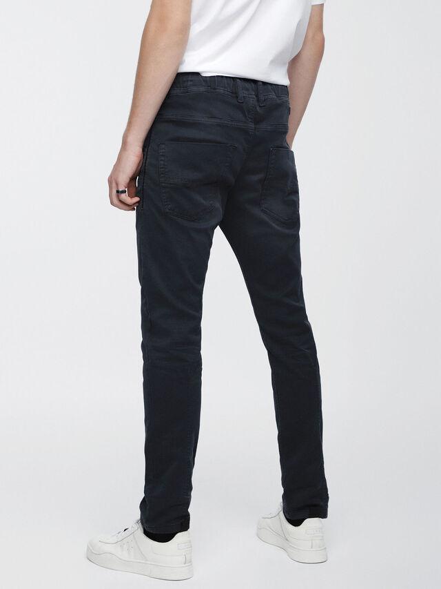 Diesel - Krooley JoggJeans 0670M, Bleu Foncé - Jeans - Image 2