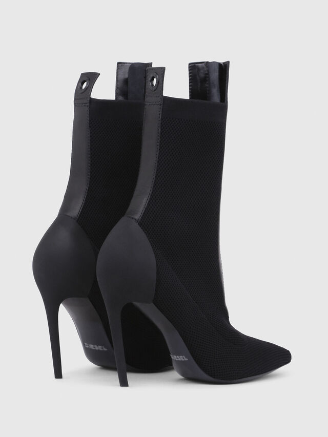 Diesel - D-SLANTY HAS, Noir - Bottines - Image 3