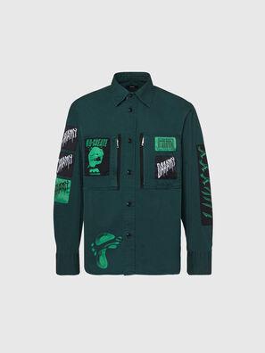 S-MARCUS, Vert Foncé - Chemises