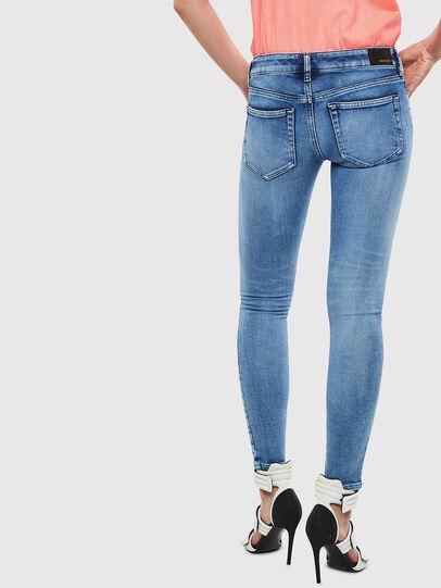 Diesel - Slandy Low 0095P, Bleu Clair - Jeans - Image 2