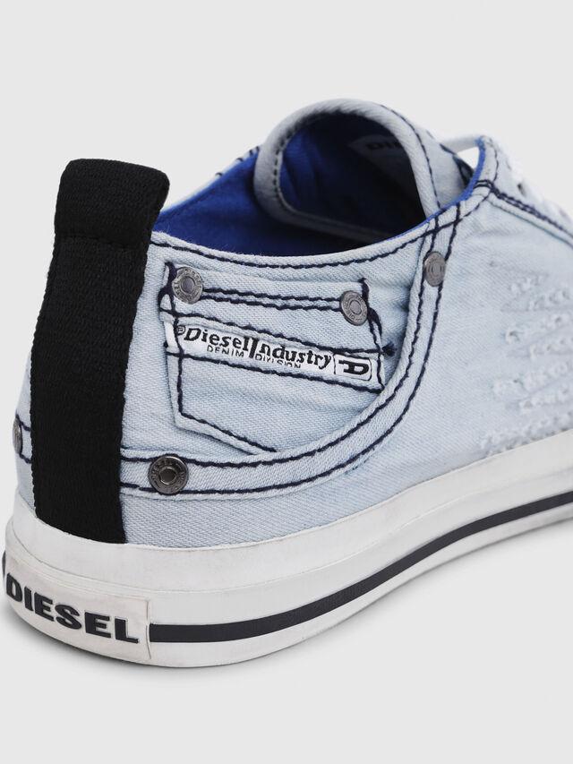 Diesel - EXPOSURE LOW I, Bleu Clair - Baskets - Image 5