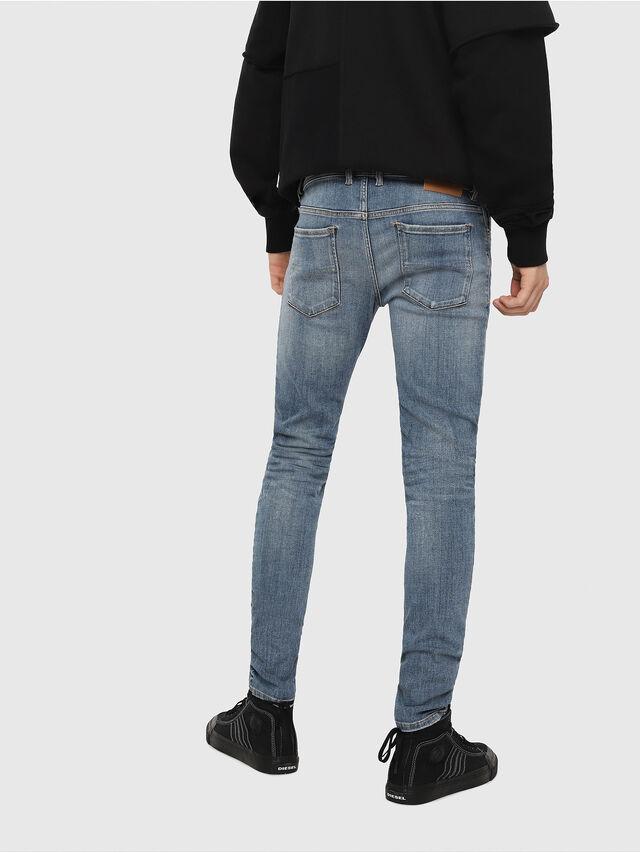 Diesel - Sleenker 086AP, Bleu Clair - Jeans - Image 2