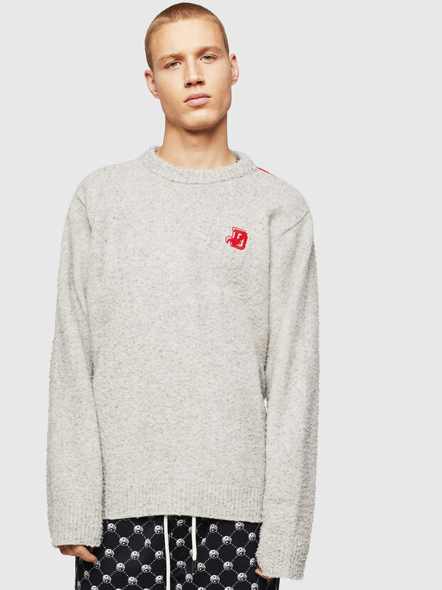 K-CASY, Gris Clair - Pull Maille