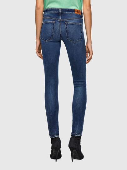 Diesel - Slandy Low 009ZX, Bleu Foncé - Jeans - Image 2