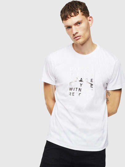 Diesel - T-DIEGO-J8, Blanc - T-Shirts - Image 1
