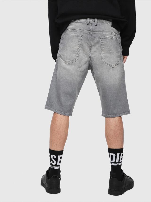 Diesel - THOSHORT, Jean Gris - Shorts - Image 2