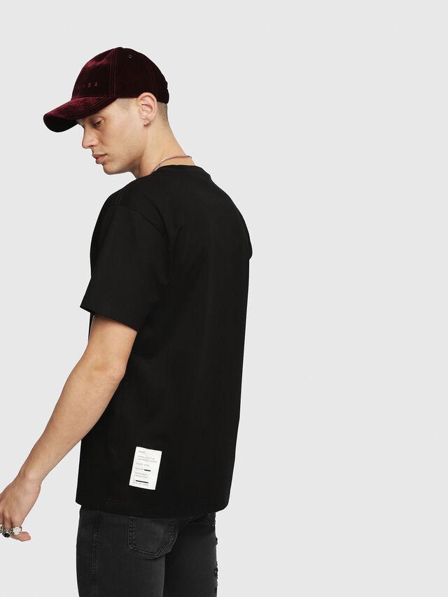 Diesel - T-WALLACE-YC, Noir - T-Shirts - Image 2