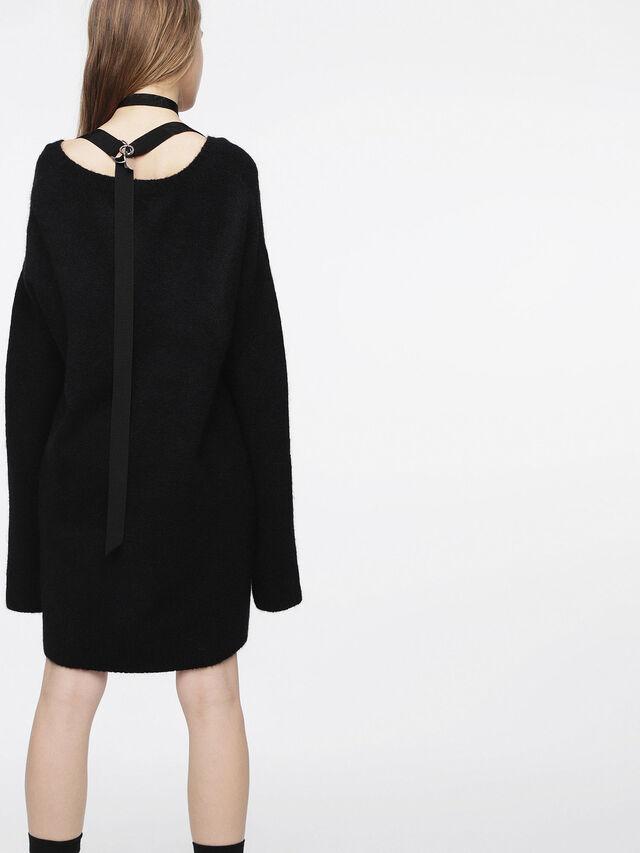 Diesel - M-SOFTY, Noir - Robes - Image 2