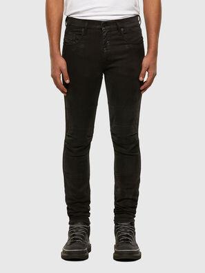 D-Strukt JoggJeans 009GH, Noir/Gris foncé - Jeans