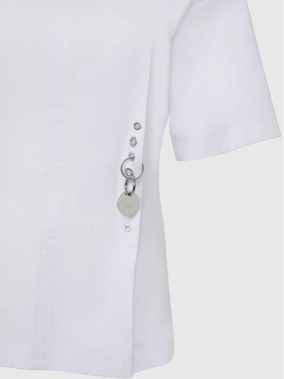 Diesel - T-SHEELA, Blanc - T-Shirts - Image 3
