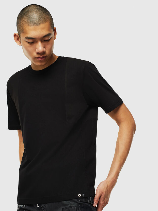T-TOMI, Noir - T-Shirts