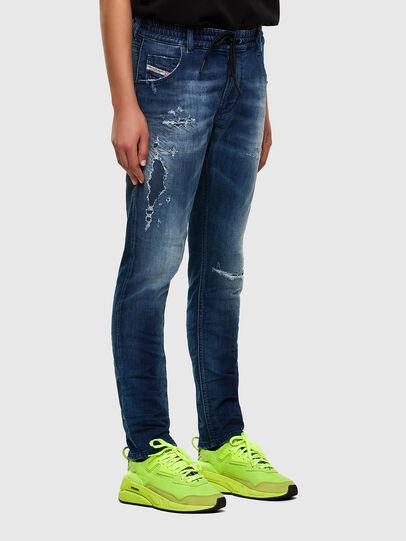 Diesel - Krailey JoggJeans 069PL, Bleu Foncé - Jeans - Image 6