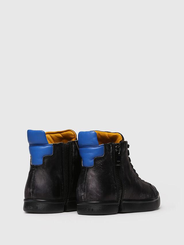 Diesel - S-NENTISH, Noir/Bleu - Baskets - Image 2