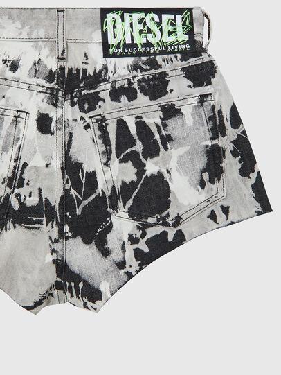Diesel - DE-HIGWEI, Noir/Blanc - Shorts - Image 4