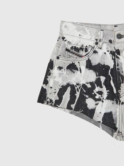 Diesel - DE-HIGWEI, Noir/Blanc - Shorts - Image 3