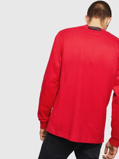 Diesel - LCP-T-JUST-LS-PALERM, Rouge - T-Shirts - Image 3
