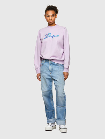 Diesel - F-ANG-K15, Lilas - Pull Cotton - Image 4