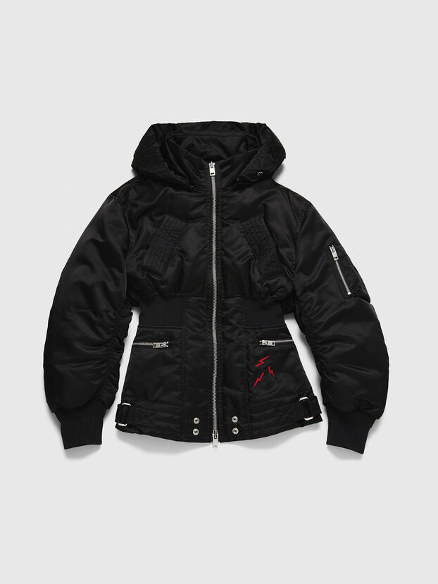 CL-W-ISOKE-A-LITM, Noir - Vestes d'hiver