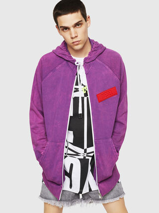 S-GIM-HOOD-ZIP,  - Pull Cotton