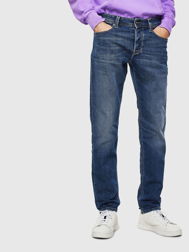 Larkee-Beex 0096E, Bleu moyen - Jeans