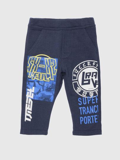 Diesel - PEMMOB, Bleu - Pantalons - Image 1