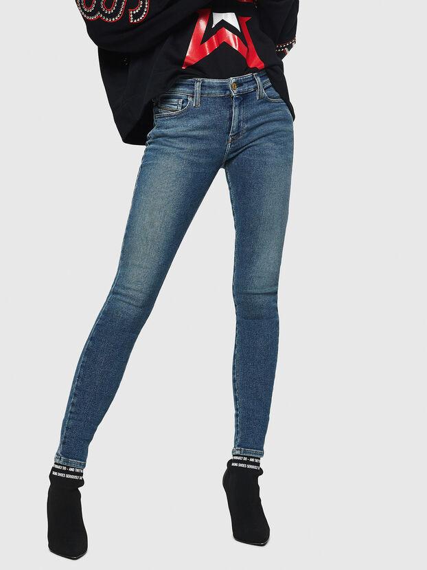 Slandy 083AL, Bleu moyen - Jeans