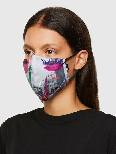 Diesel - VE-FACEMASK-SMARCO, Blanc - Other Accessories - Image 3
