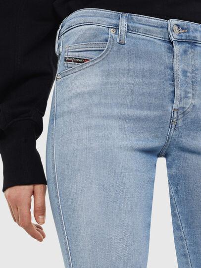 Diesel - Babhila 0095D, Bleu Clair - Jeans - Image 3