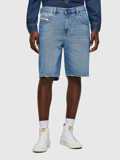 Diesel - D-STRUKT-SHORT, Bleu Clair - Shorts - Image 1