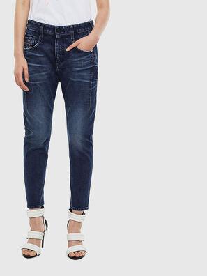 Fayza 009BY, Bleu Foncé - Jeans
