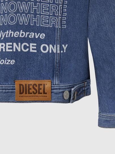 Diesel - NHILL-SP2, Bleu Clair - Vestes en denim - Image 6